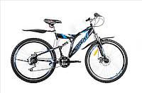 Горный велосипед OSKAR 26SY-01 Shimano Чёрный Сталь Гарантия 12 мес.