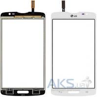 Сенсор (тачскрин) для LG L80 Dual Sim D380 White