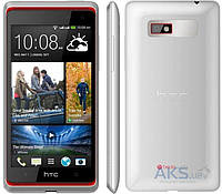 Дисплей (экран) для телефона HTC Desire 600 Dual Sim, Desire 606w + Touchscreen with frame Original White