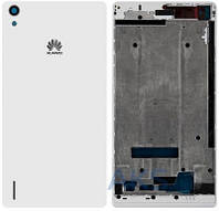 Корпус Huawei Ascend P7 White