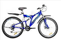 Горный велосипед OSKAR 26SY-01 Shimano Синий Сталь Гарантия 12 мес.