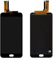 Дисплей (экраны) для телефона Meizu M2 Note + Touchscreen Original Black