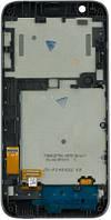 Дисплей (экраны) для телефона HTC Desire 510 + Touchscreen with frame Original Black