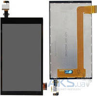 Дисплей (экран) для телефона HTC Desire 620 Dual sim, Desire 620G Dual sim + Touchscreen Black