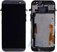 Дисплей (экраны) для телефона HTC One M8 + Touchscreen with frame Original Black