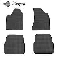 Stingray Модельные автоковрики в салон Фольксваген Пассат Б4 1993- Комплект из 4-х ковриков (Черный)