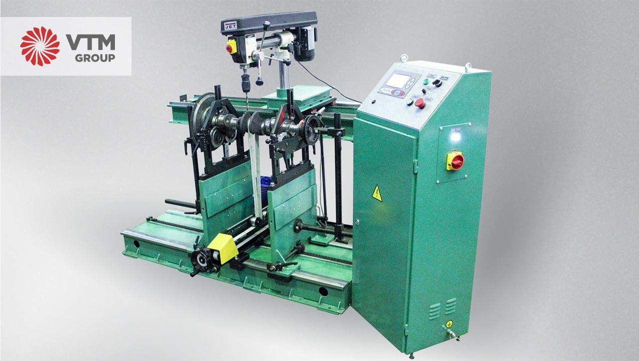 Балансировочный станок для роторов массой до 10 000 кг   VTM GROUP   Дорезонансные станки серии 9Д