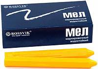 Мел для резины восковый желтый Россвик