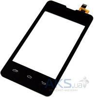 Сенсор (тачскрин) для Prestigio MultiPhone 3350 Duo, Explay A351 Original Black