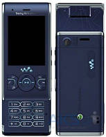 Корпус Sony Ericsson W595 с клавиатурой Blue