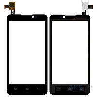 Сенсор (тачскрин) для Prestigio MultiPhone 4505 Duo, Coolpad 7290 Black