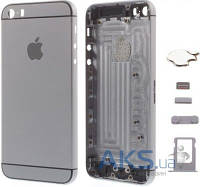 Корпус Apple iPhone 5 в стиле iPhone 6 Exclusive Black