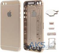 Корпус Apple iPhone 5 в стиле iPhone 6 Exclusive Gold