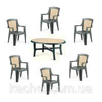 Комплект садовой мебели Danubio 6 Wood