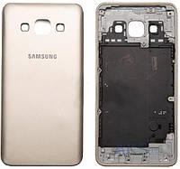 Задняя часть корпуса (крышка аккумулятора) Samsung A300F Galaxy A3 / A300FU Galaxy A3 / A300H Galaxy A3 Original Gold