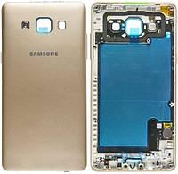 Задняя часть корпуса (крышка аккумулятора) Samsung A500F Galaxy A5 / A500FU Galaxy A5 / A500H Galaxy A5 Original Gold
