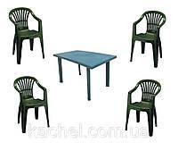 Комплект мебели Velo 4 зеленый