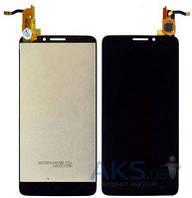 Дисплей (экраны) для телефона Alcatel One Touch Idol X 6040D + Touchscreen Original Black