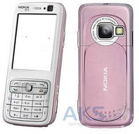 Корпус Nokia N73 Pink/White