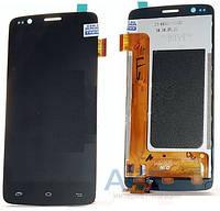 Дисплей (экраны) для телефона Fly IQ4409 Era Quad Life 4 + Touchscreen Black