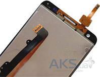 Дисплей (экраны) для телефона Huawei Ascend Honor 3X G750 + Touchscreen Original Black