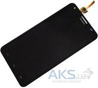 Дисплей (экраны) для телефона Huawei Ascend Honor 3X G750 + Touchscreen Black