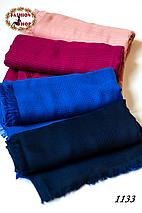 Тёмно-синий шарф Грация, фото 3