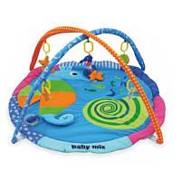 Коврик Baby Mix TK/3293С Морской конек blue
