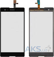 Сенсор (тачскрин) для Sony Xperia T2 Ultra DS D5322 Original Black