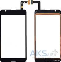 Сенсор (тачскрин) для Sony Xperia E4g E2003, Xperia E4g E2006, Xperia E4g E2053 Original Black