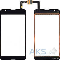 Сенсор (тачскрин) для Sony Xperia E4g E2003, Xperia E4g E2006, Xperia E4g E2053 Black