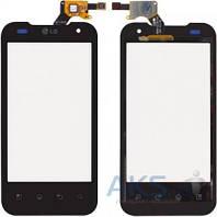 Сенсор (тачскрин) для LG 2X P990, G2x P999 Black