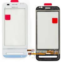 Сенсор (тачскрин) для Nokia C6-00 Original White