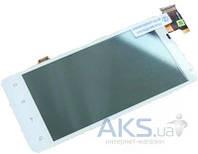 Дисплей (экран) для телефона HTC Raider 4G X710e + Touchscreen White