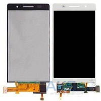 Дисплей (экран) для телефона Huawei Ascend G6-U10 + Touchscreen Original White