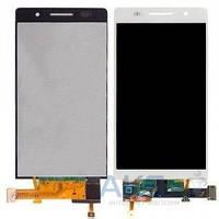 Дисплей (экран) для телефона Huawei Ascend G6-U10 + Touchscreen White