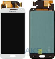Дисплей (экраны) для телефона Samsung Galaxy E5 Dual Sim E500H + Touchscreen Original White