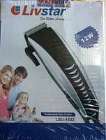 Машинка для стрижки волос LivStar LSU-1532, 4 насадки, от сети