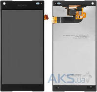 Дисплей (экраны) для телефона Sony Xperia Z5 Compact E5803, Xperia Z5 Compact E5823 + Touchscreen Black