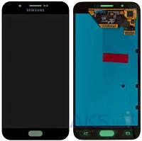 Дисплей (экран) для телефона Samsung Galaxy A8 Dual A800 + Touchscreen Grey