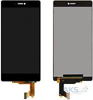 Дисплей (экран) для телефона Huawei P8 (GRA-L09) + Touchscreen Black