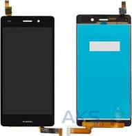 Дисплей (экран) для телефона Huawei P8 Lite Dual Sim (ALE-L21) + Touchscreen Original Black