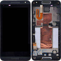 Дисплей (экран) для телефона HTC Desire 610 + Touchscreen with frame Original Black