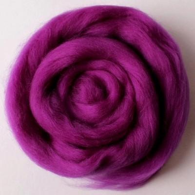 Шерсть мериноса 22 мк, фиолетовая