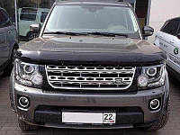 Дефлектор капота (мухобойка) LAND ROVER Discovery 2009-