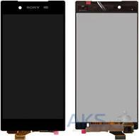 Дисплей (экраны) для телефона Sony Xperia Z5 E6603, Xperia Z5 E6653, Xperia Z5 Dual E6683 + Touchscreen Black