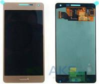Дисплей (экраны) для телефона Samsung Galaxy A5 A500F, Galaxy A5 A500FU, Galaxy A5 A500H + Touchscreen Original Gold