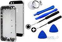 Корпус Apple iPhone 5S Original Space Gray (132362) + набор для открывания корпусов iPhone