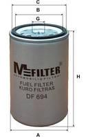 Фильтр топливный M-Filter DF694