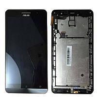 Дисплей (экраны) для телефона Asus ZenFone 6 A600CG + Touchscreen with frame Original